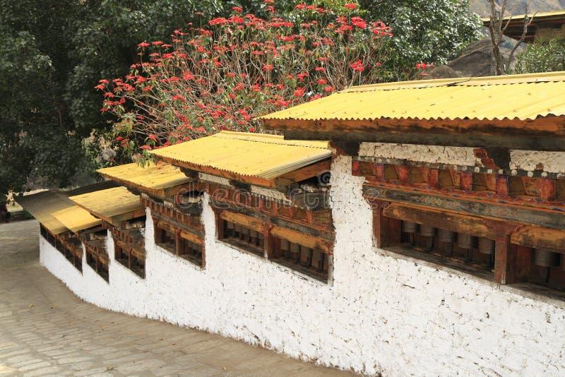 Gom Kora Trashigang, Бутан стоковые изображения rf
