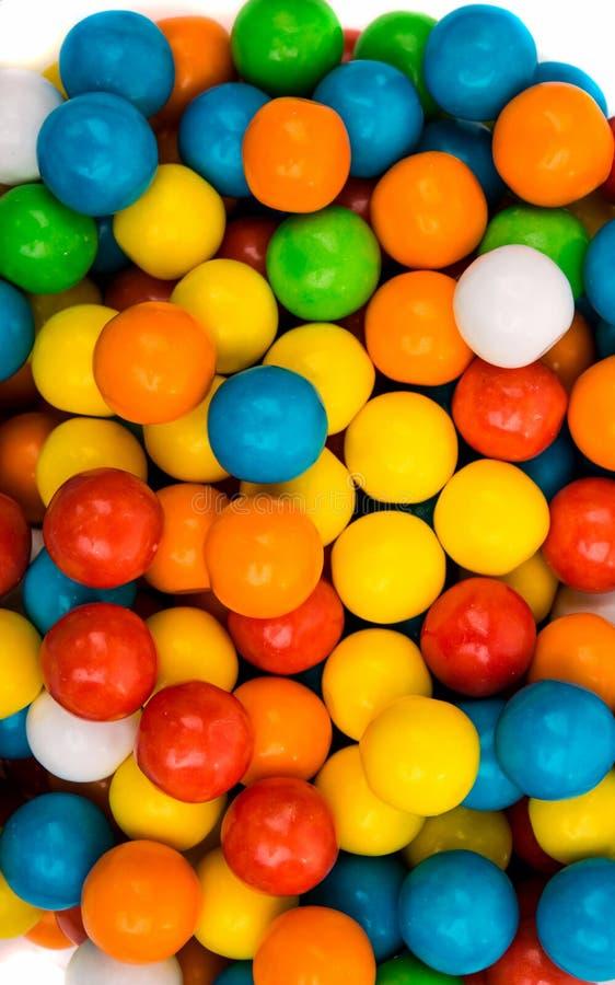 Goma colorida dos feijões de geleia imagem de stock royalty free
