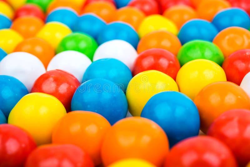 Goma colorida dos feijões de geleia fotos de stock royalty free