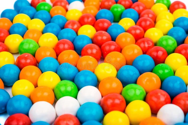 Goma colorida dos feijões de geleia fotografia de stock royalty free