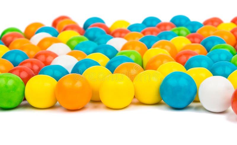 Goma colorida dos feijões de geleia fotografia de stock