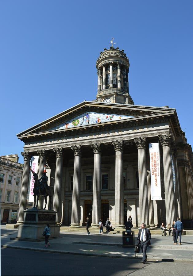 Goma - Glasgow Museum der moderner Kunst, Schottland stockfotografie