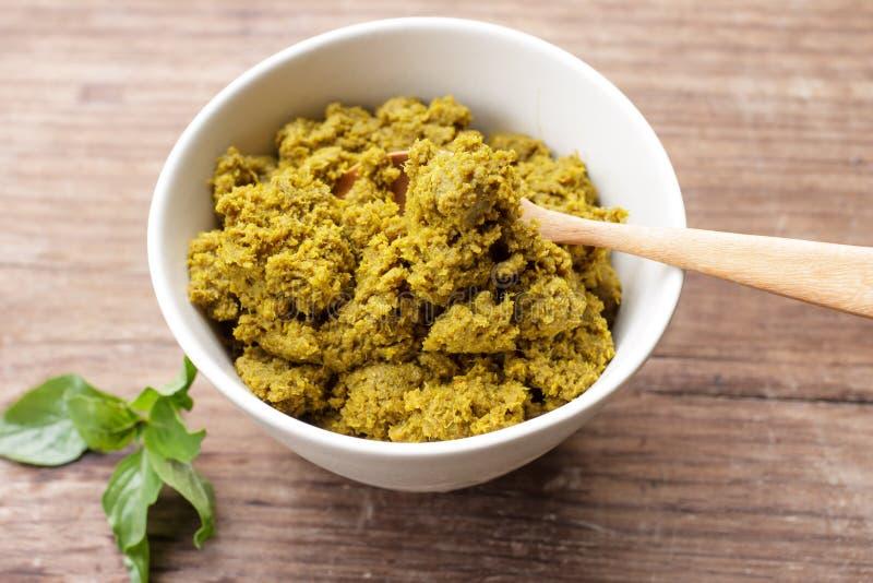 Goma verde del curry fotografía de archivo