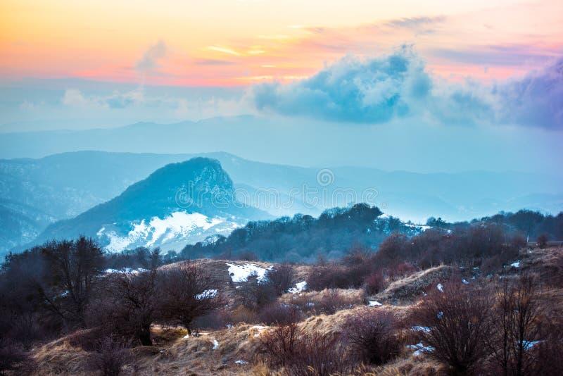 Gombori. Pass in Caucasus mountains, Kakheti region, Georgia stock photos