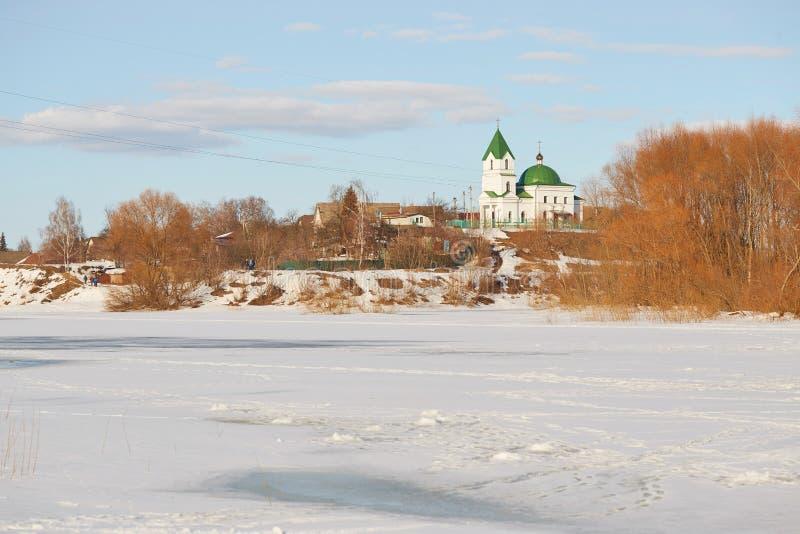 GOMEL, Λευκορωσία - 24 Μαρτίου 2018: Εκκλησία του Άγιου Βασίλη το Wonderworker στοκ εικόνες με δικαίωμα ελεύθερης χρήσης