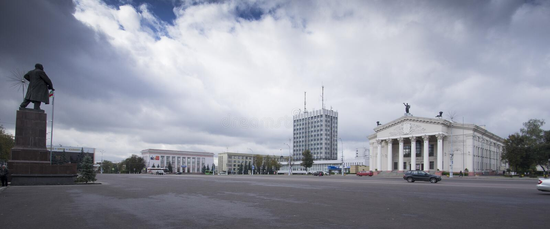 Gomel, Białoruś w jesień spadku obrazy royalty free