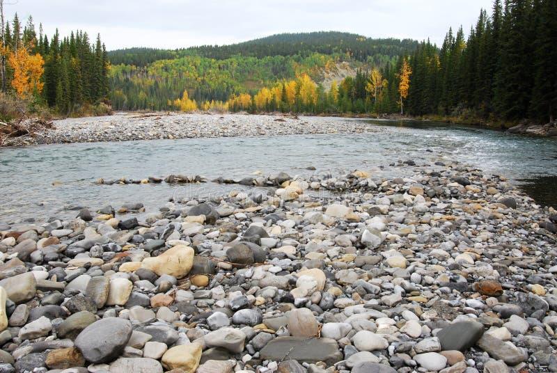 Download Gomito River Valley In Autunno Fotografia Stock - Immagine di insenatura, ciottoli: 7319880