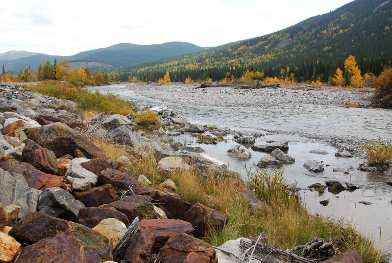 Download Gomito River Valley In Autunno Immagine Stock - Immagine di esterno, alberta: 7320179