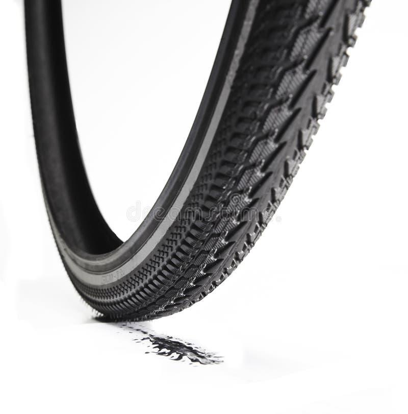 Gomma della bicicletta immagine stock