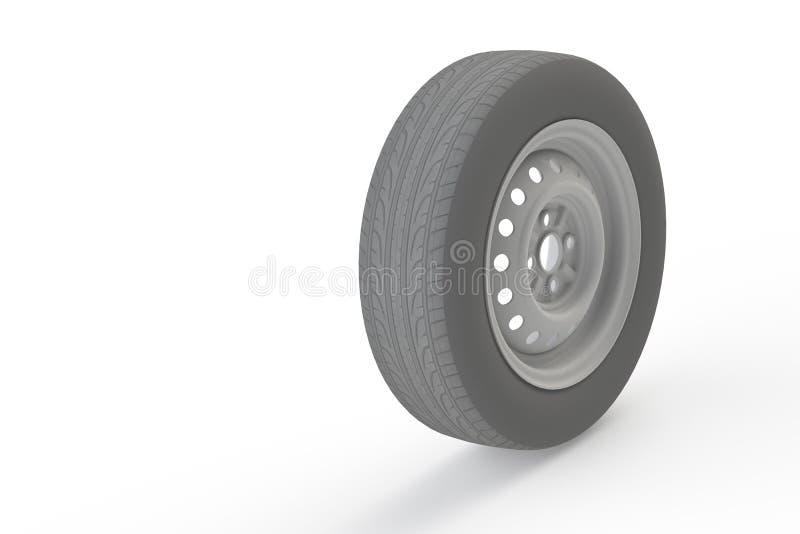 Gomma di automobile illustrazione di stock