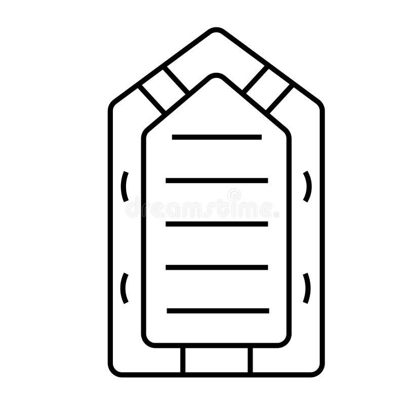 Gommone illustrazione di stock