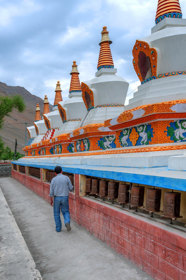 Gompa photographie stock