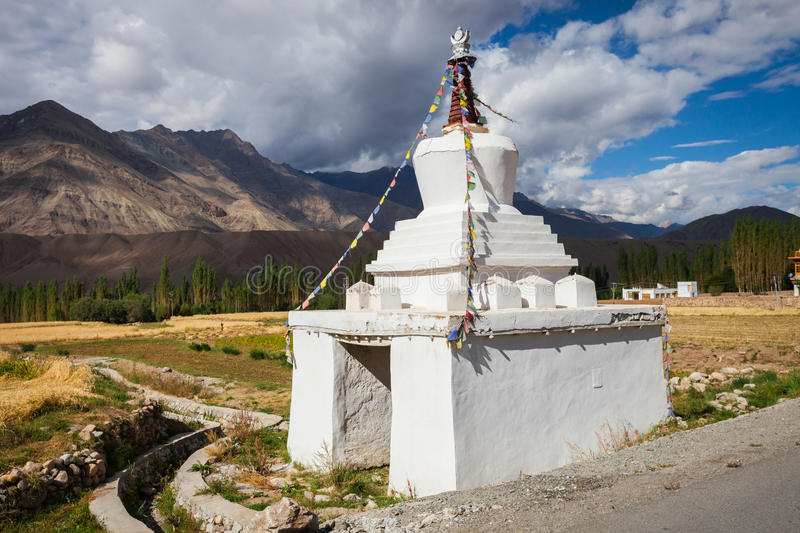 Gompa in the Himalayas. Gompa in the Indian Himalayas. Ladakh province royalty free stock images