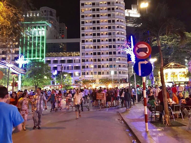Gon Sai к ночь - Вьетнам стоковое фото rf