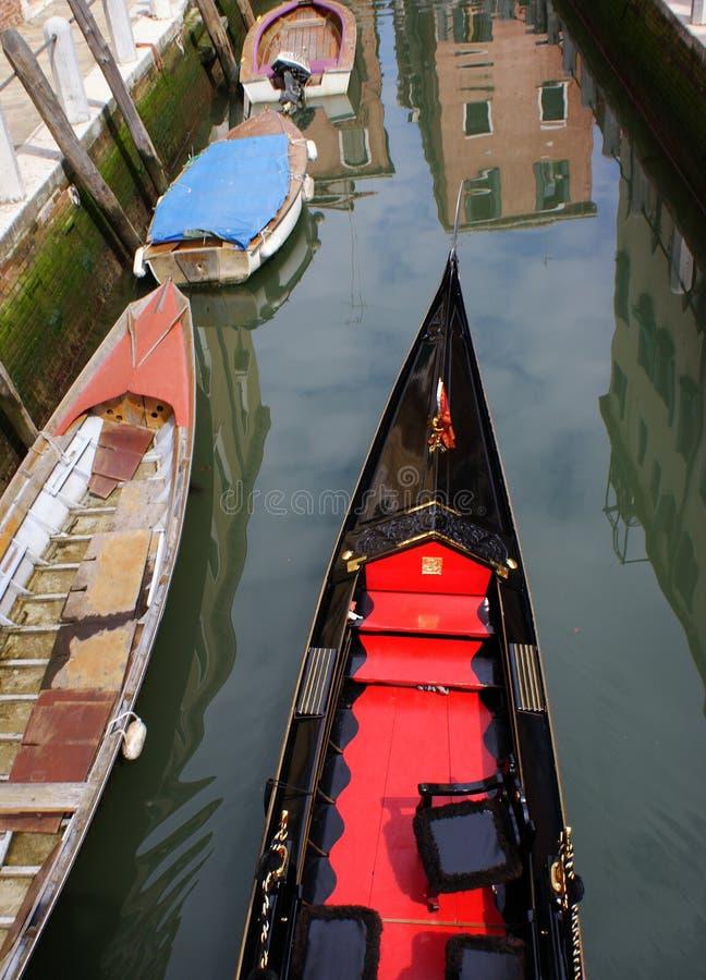 Gondel Venedig lizenzfreies stockfoto