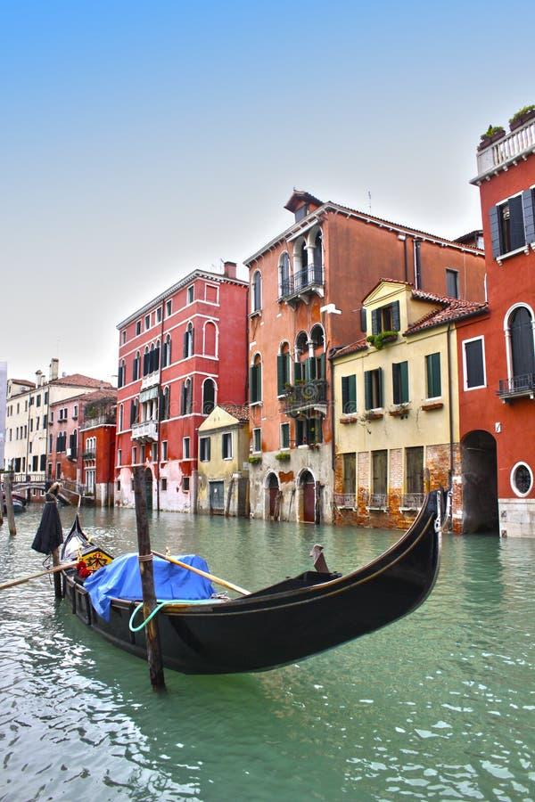 Gondel in Venedig lizenzfreies stockfoto