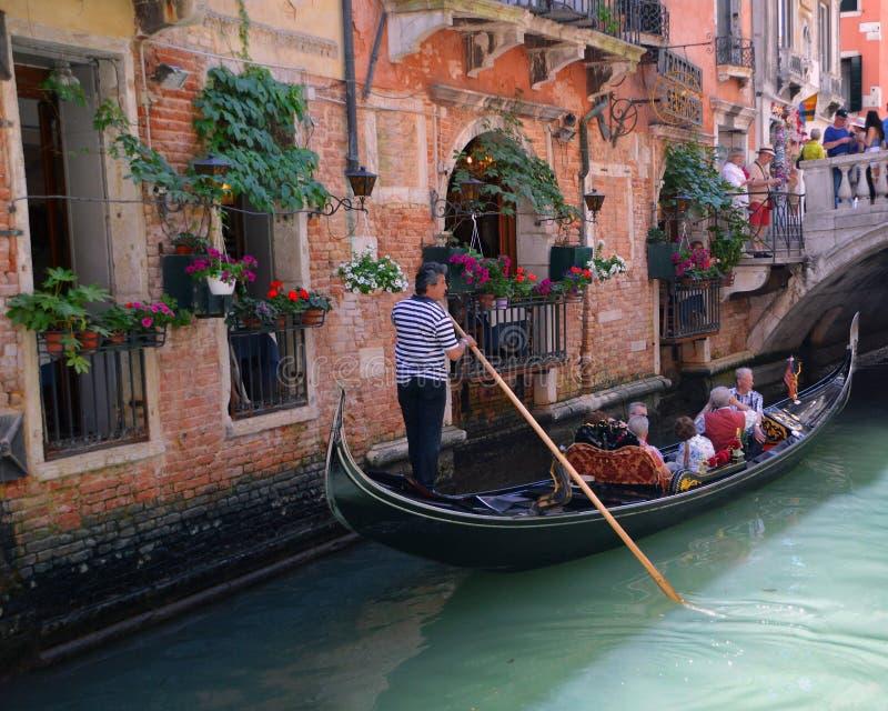 Gondel in Venetië stock fotografie
