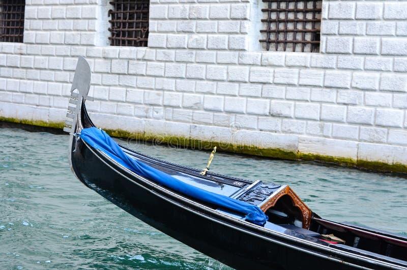 Gondel in Venetië Italië royalty-vrije stock fotografie