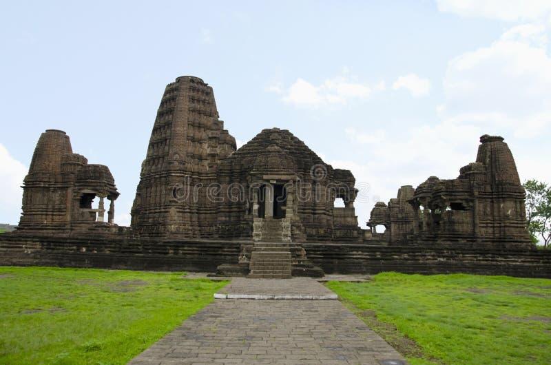 Gondeshwartempel, Sinnar, dichtbij Nashik, Maharashtra, India royalty-vrije stock foto's