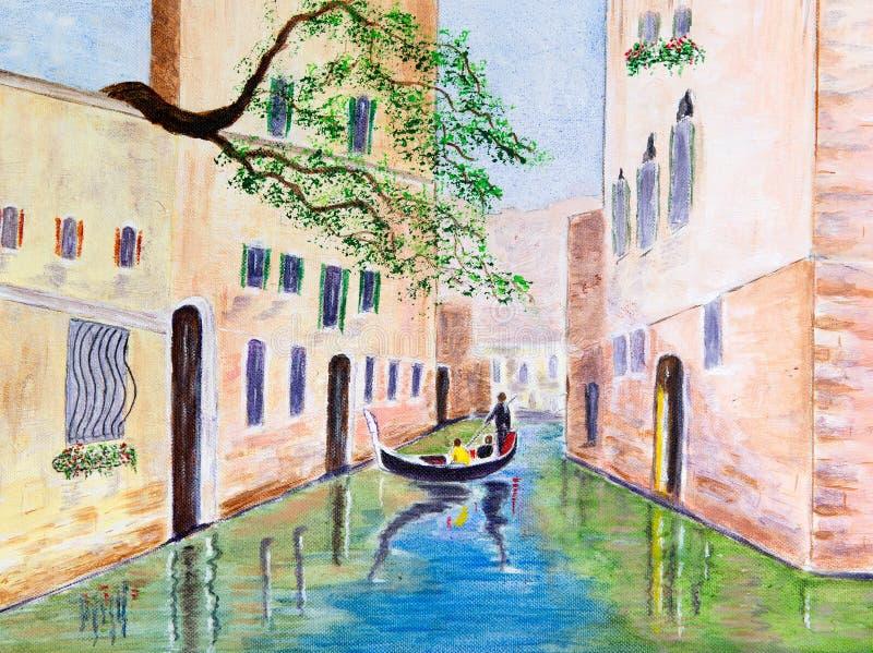 Gondola ilustracji