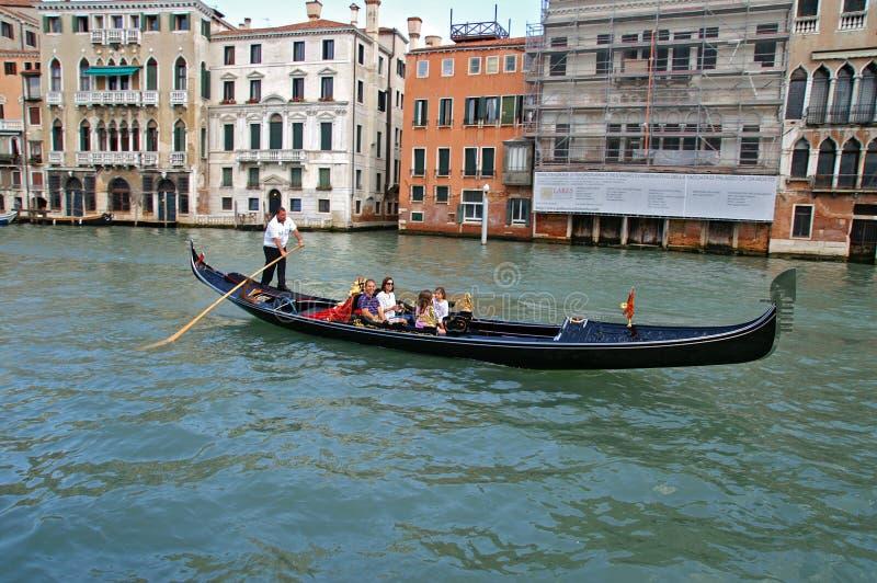 gondola royalty-vrije stock foto's