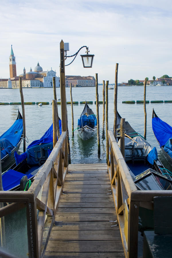 Download Gondola Boats On Grand Canal Venice Italy Stock Images - Image: 10618914