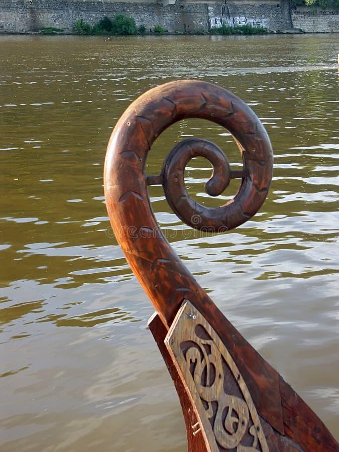 Gondola Bow Free Stock Photography