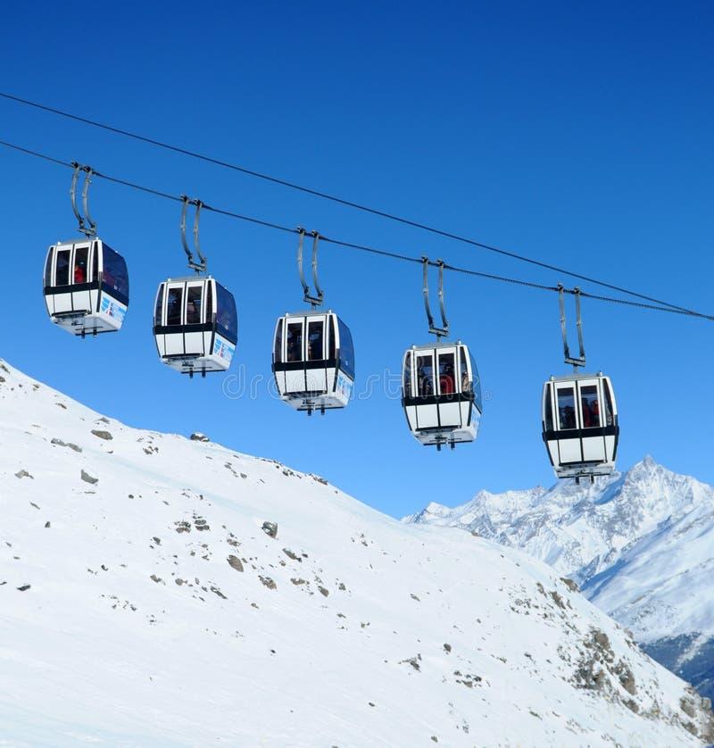 Free Gondola Cars Royalty Free Stock Photos - 8770078