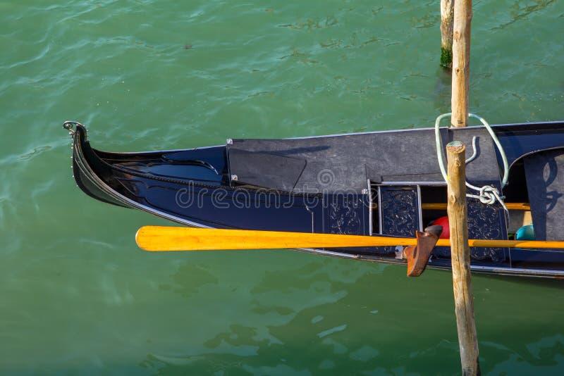 Gondola Detail Stock Photo