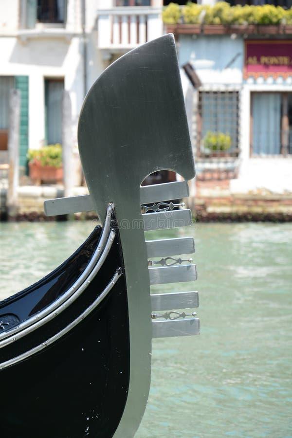 Gondola detail royalty free stock photography