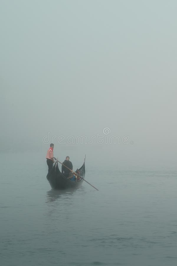 Gondola In The Fog Free Public Domain Cc0 Image