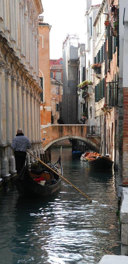 gondola kanałowa Wenecji obraz stock