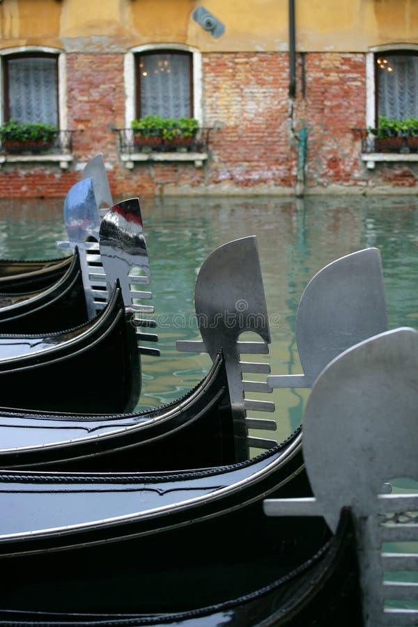 Gondola parking lot. royalty free stock photos
