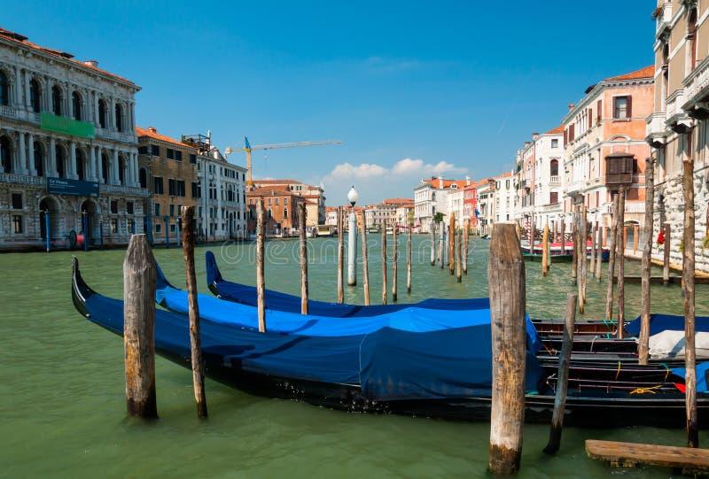 Gondola parkująca obraz stock