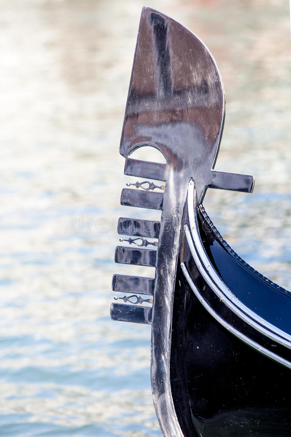 Download Gondola prow stock image. Image of canal, travel, tourism - 39505471
