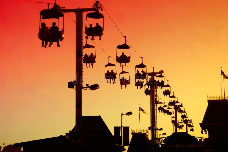 Gondola a Santa Cruz fotografia stock libera da diritti