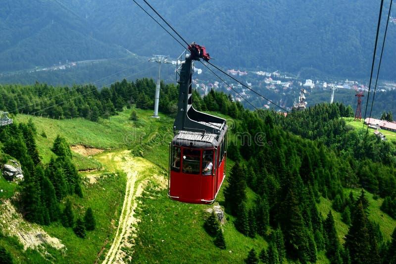 Gondola Sinaia Cota 2000 zdjęcia royalty free