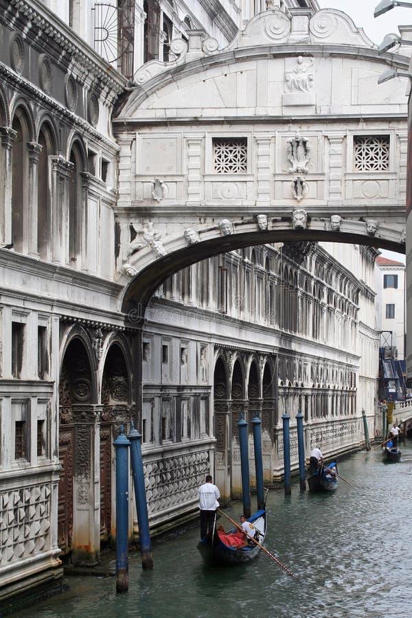 A gondola tour royalty free stock photos