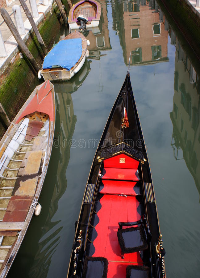 Gondola Venice royalty free stock photo