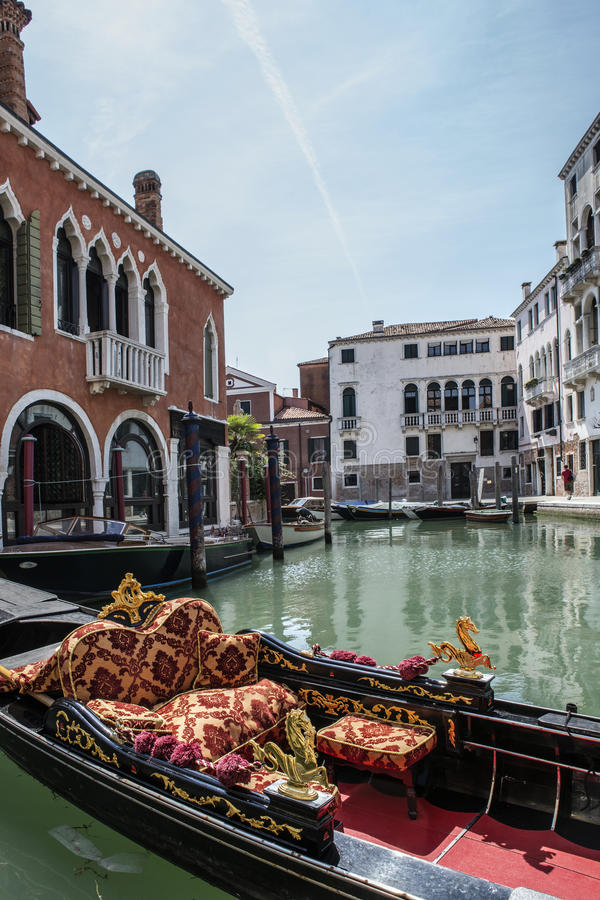 Download Gondola in Venice stock image. Image of canal, channel - 27290235