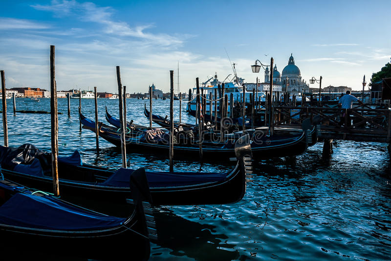 Gondola Venice stock photos