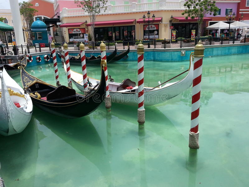 gondolas fotografia de stock