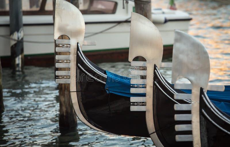 gondolas fotografia de stock royalty free