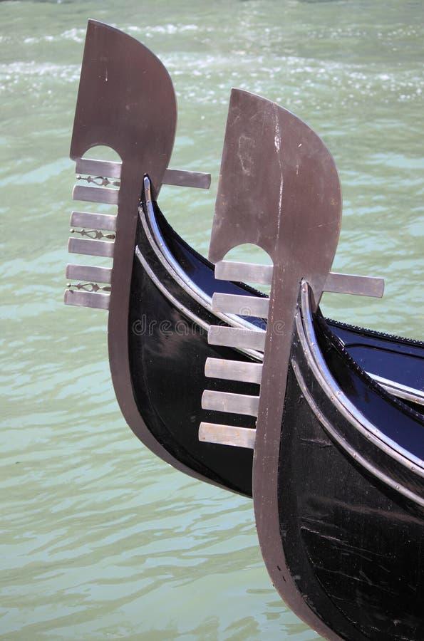 gondolas imagem de stock