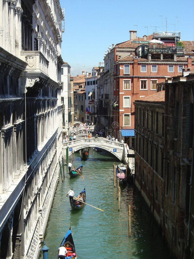 Download Gondolas traffic stock image. Image of canale, seawater - 106019