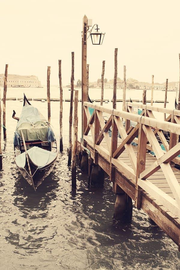 gondolas Veneza Italy imagens de stock royalty free