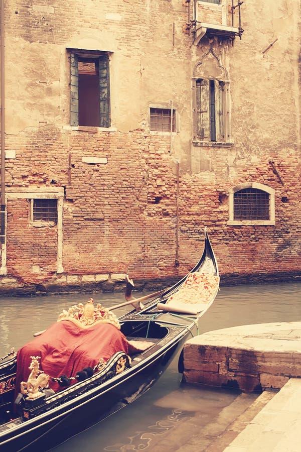 gondolas Veneza Italy fotos de stock
