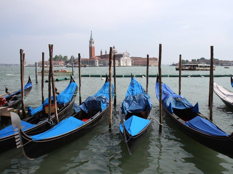 Download Gondolas in Venice, Italy stock photo. Image of italy - 5431068