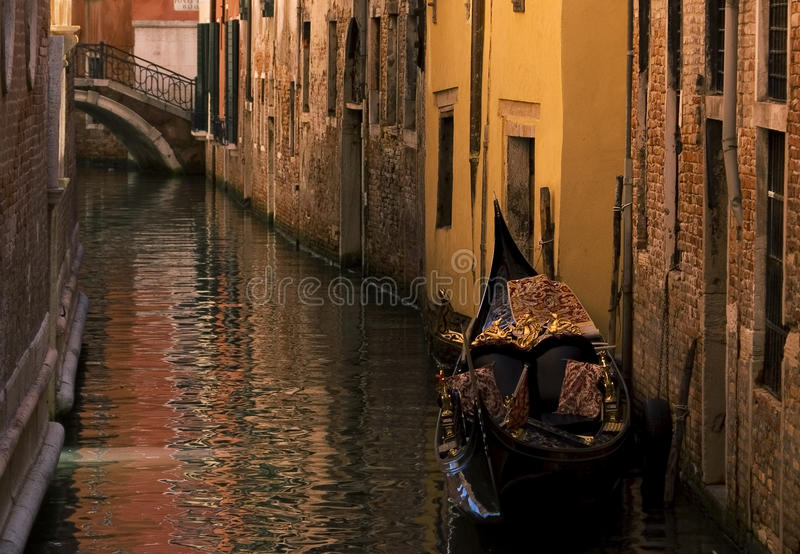 Gondole à Venise, Italie photographie stock