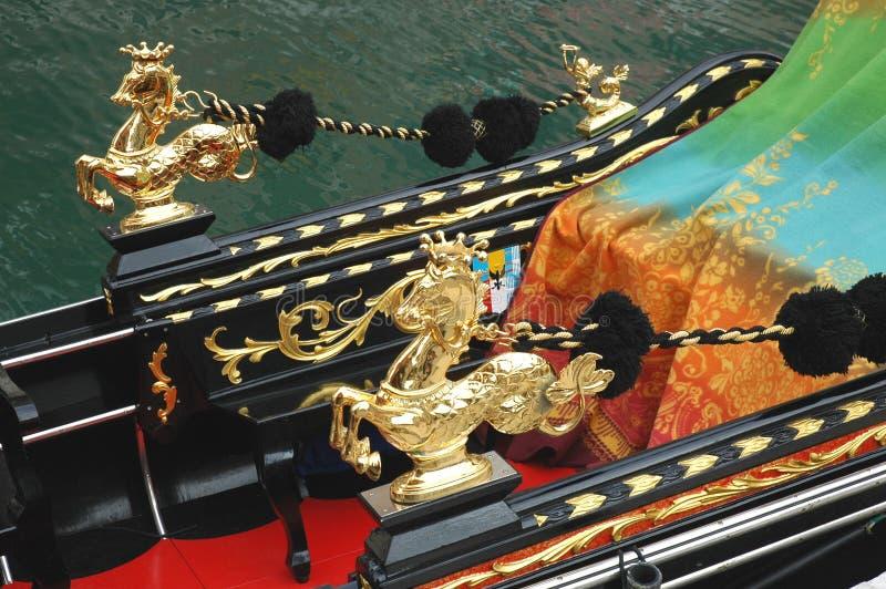 Gondole de Venise image libre de droits
